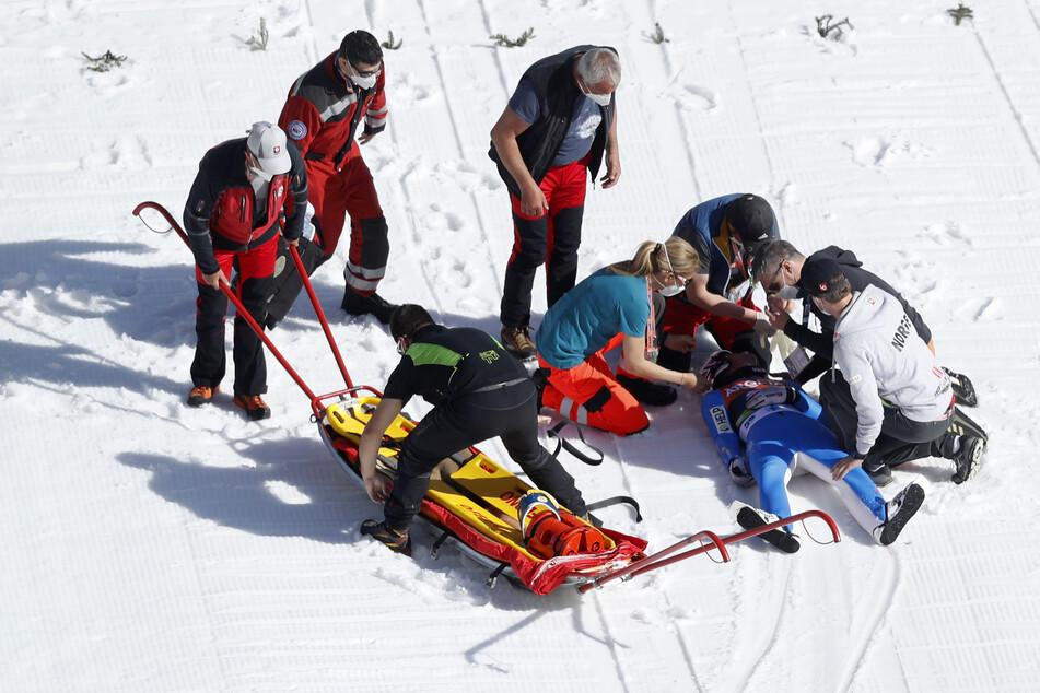 Der Norweger musste nach dem Sturz sofort ins Krankenhaus gebracht werden. Jetzt wachte er aus dem Koma auf.