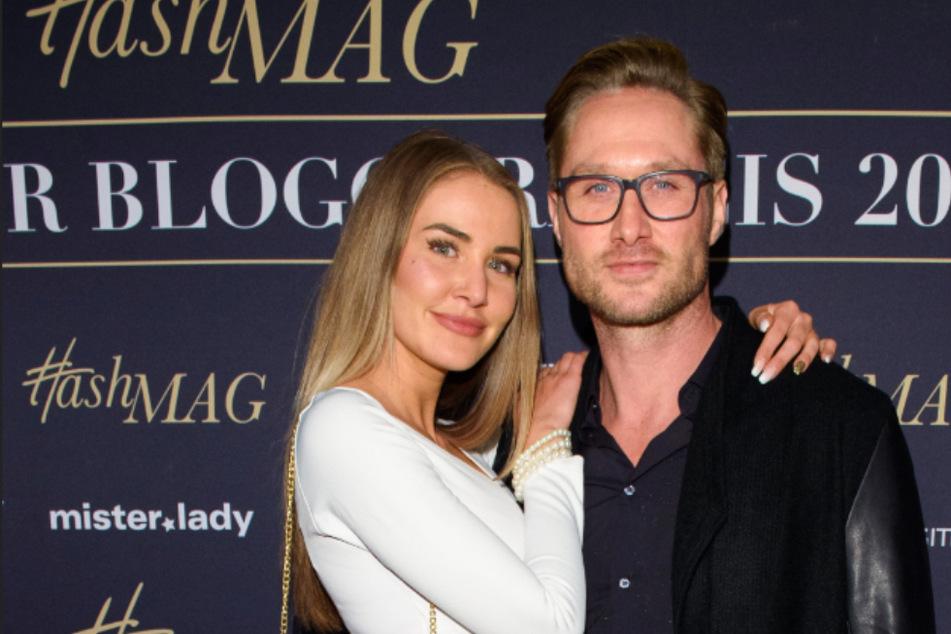 Nico Schwanz (42) und Julia Prokopy (25) beim Bloggerpreis in Hamburg.