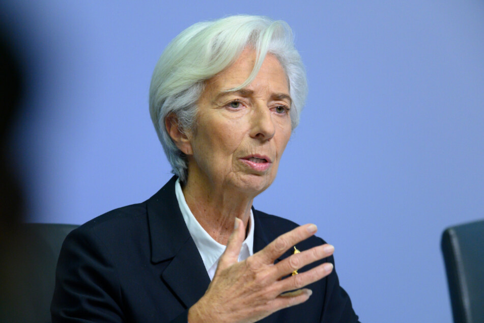 EZB-Präsidentin Christine Lagarde (64).