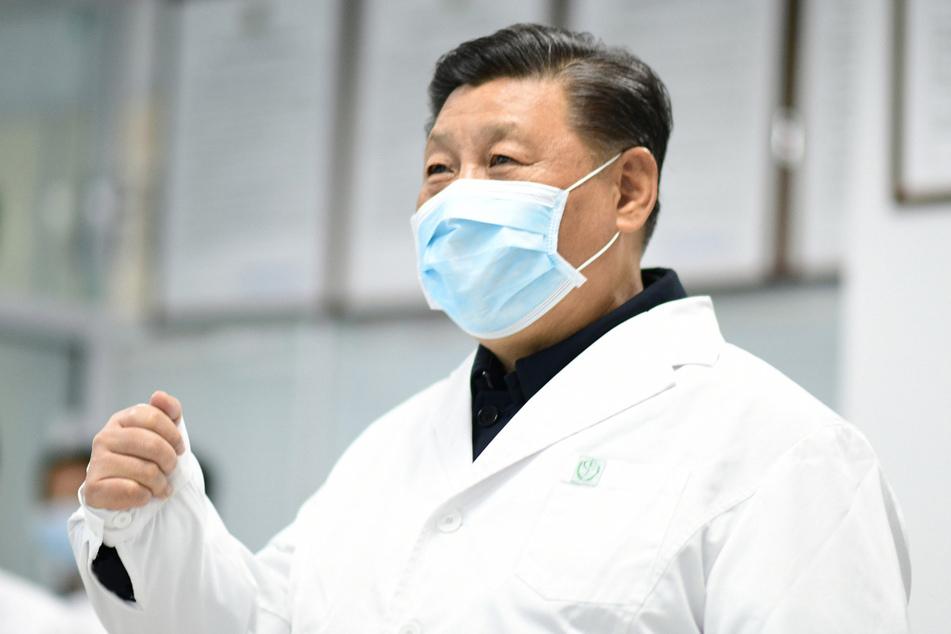Chinas Präsident, Xi Jinping, machte den Kampf gegen die Corona-Epidemie zur Chefsache.