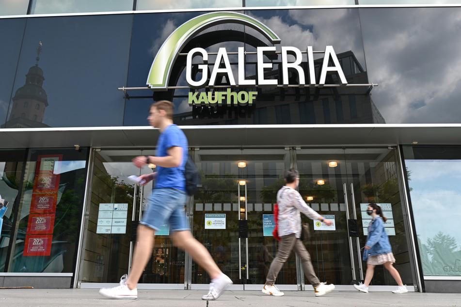 Zahlreiche Galeria Karstadt Kaufhof-Filialen stehen aktuell zur Disposition. Der Standort in Leipzig zählt jedoch nicht dazu. (Symbolbild)^^