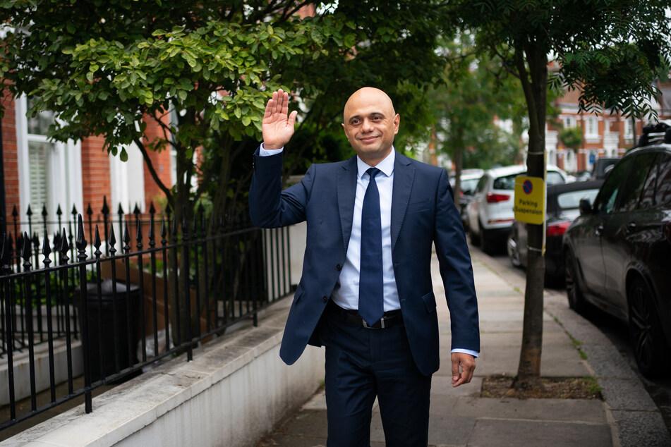 Sajid Javid (51), Gesundheitsminister von Großbritannien.