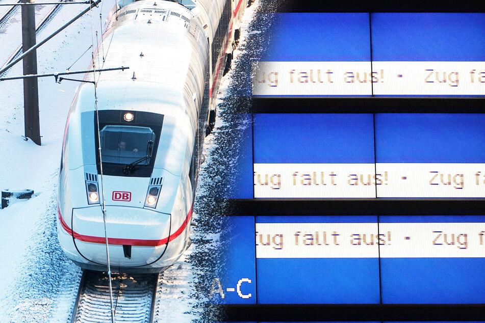 Zugverkehr wohl auch am Montag in weiten Teilen Deutschlands eingeschränkt