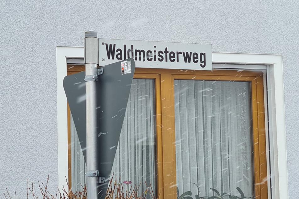 Der Täter soll über den Waldmeisterweg in Weiden geflohen sein.