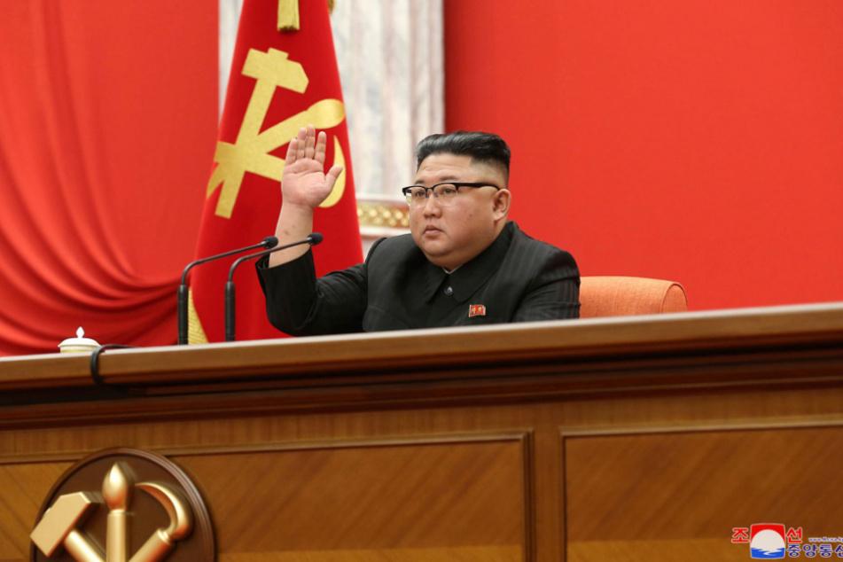 Machthaber Kim Jong Un trägt nun den Titel des Generalsekretärs.