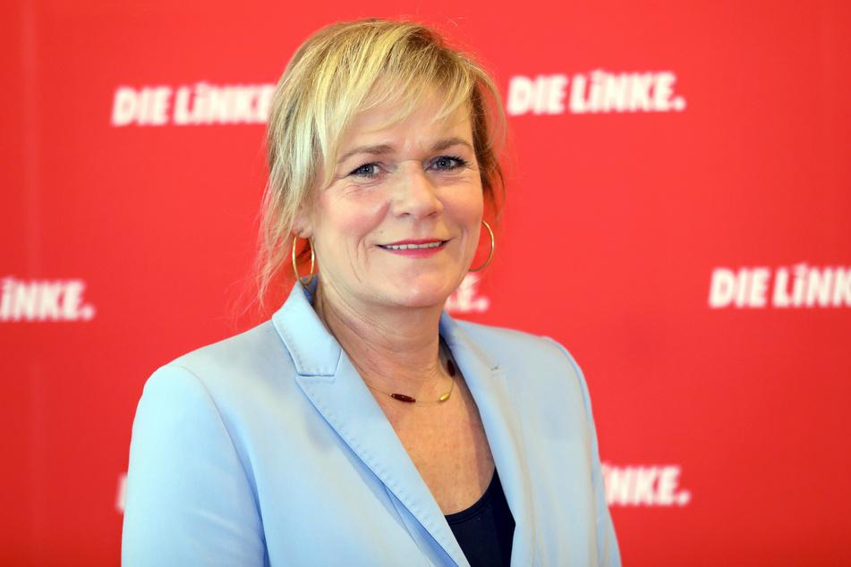 Simone Oldenburg, Fraktionsvorsitzende der Linken im Schweriner Landtag.