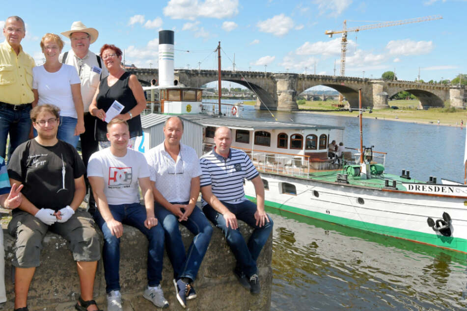 Sie kämpfen für die Weiße Flotte: Freunde hoffen auf Spendenflut