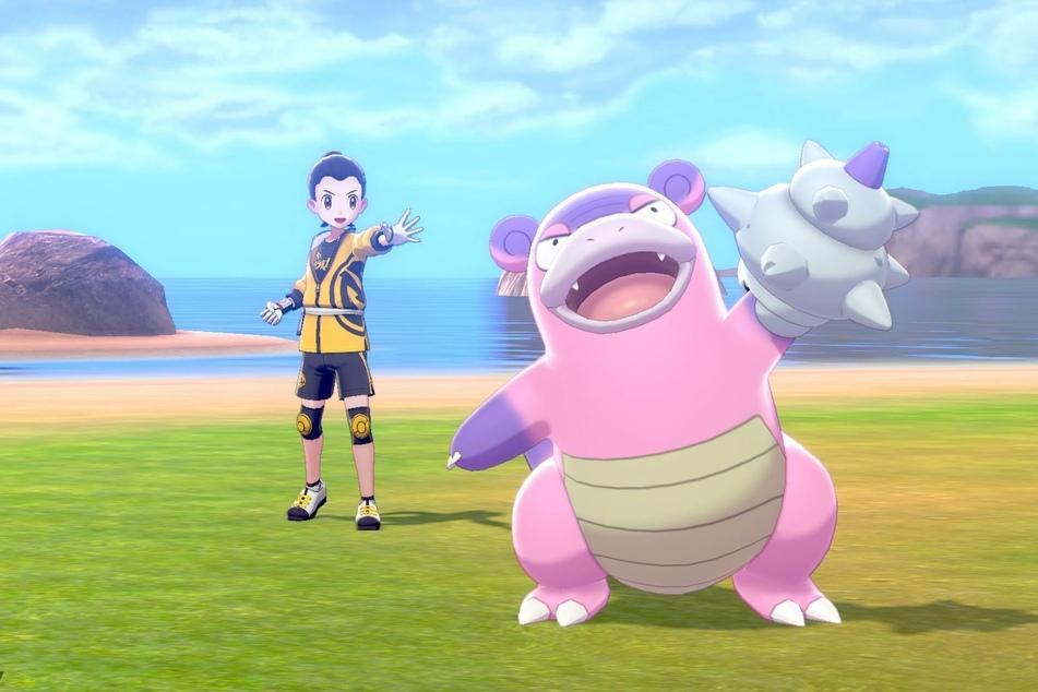 """Lahmus ist eines der """"neuen alten"""" Pokémon, die Ihr auf der Rüstungsinsel treffen könnt."""