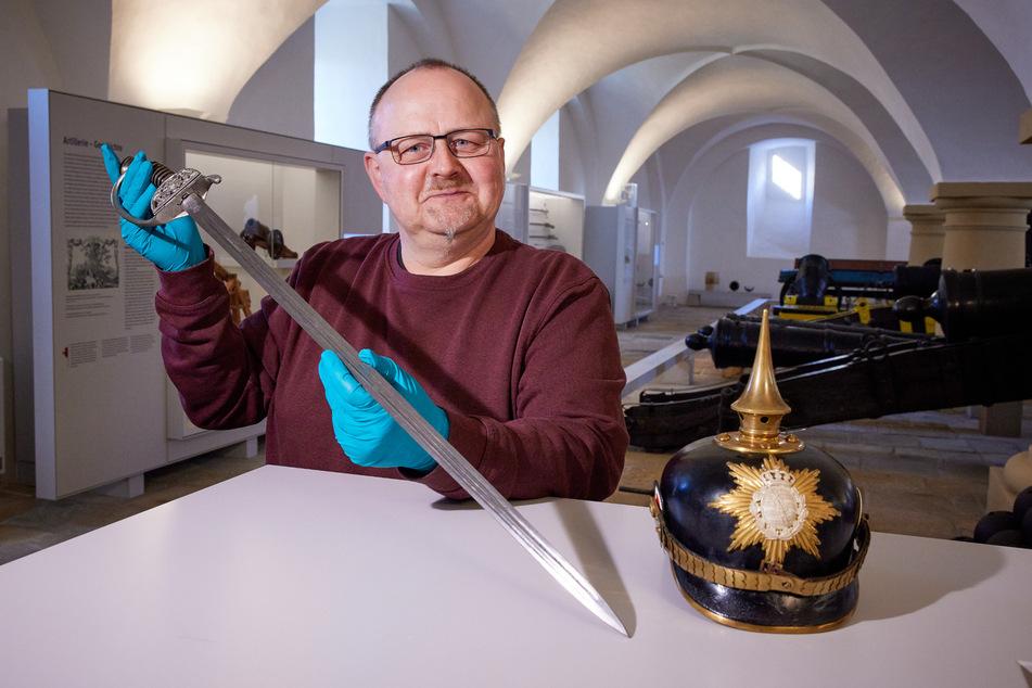 Der Kurator der Ausstellung: Ingo Busse.