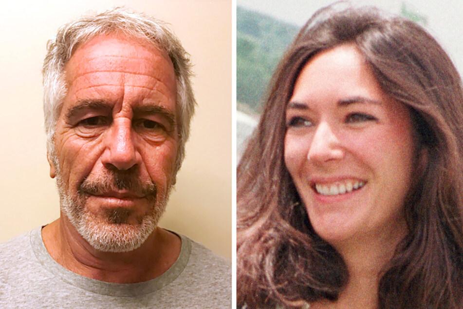 Jeffrey Epstein (†66), Unternehmer und Millionär aus den USA (Archivbild vom 28. März 2017 von der New York State Sex Offender Registry) und Ghislaine Maxwell (58). (Bildmontage)