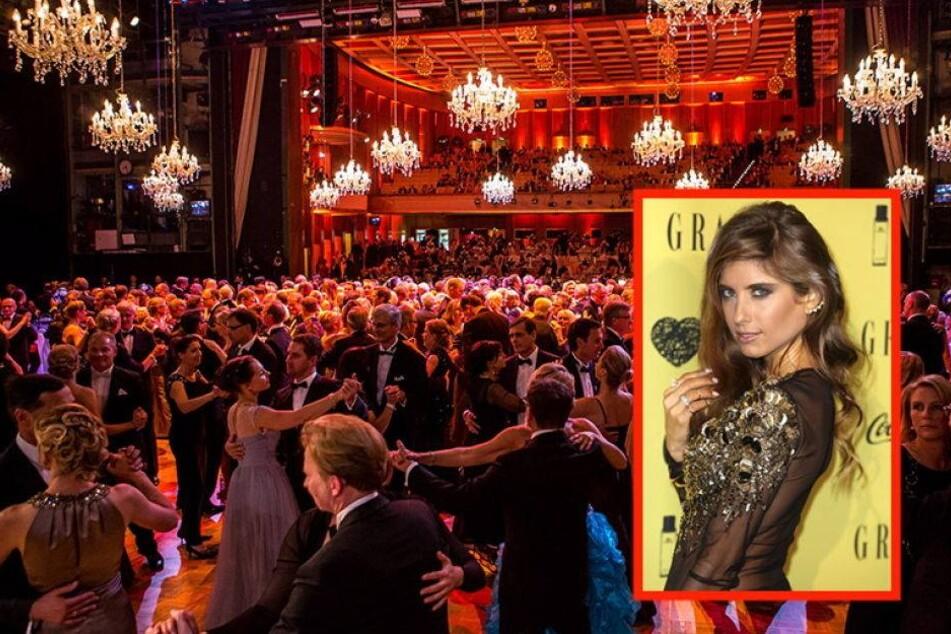 Spielerfrau Cathy Hummels und die Roben vom Leipziger Opernball