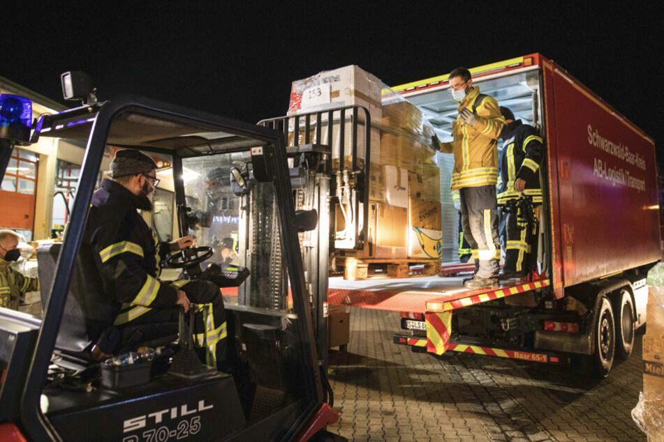 Hilfskonvoi in kroatischem Erdbebengebiet mit Applaus empfangen
