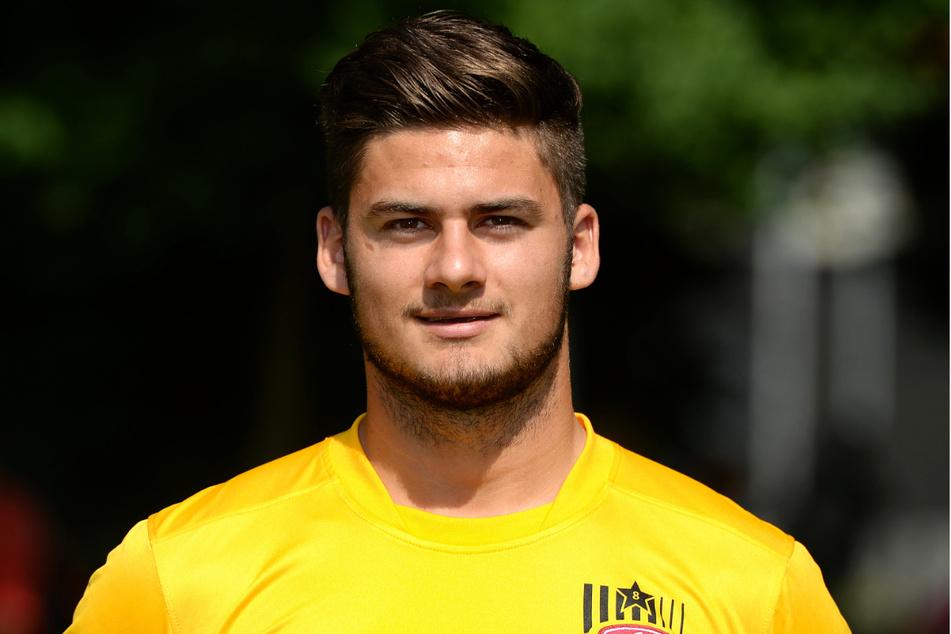 Ex-Dynamo Dominic Baumann (26) steht für eine wuchtige und kämpferische Spielweise.