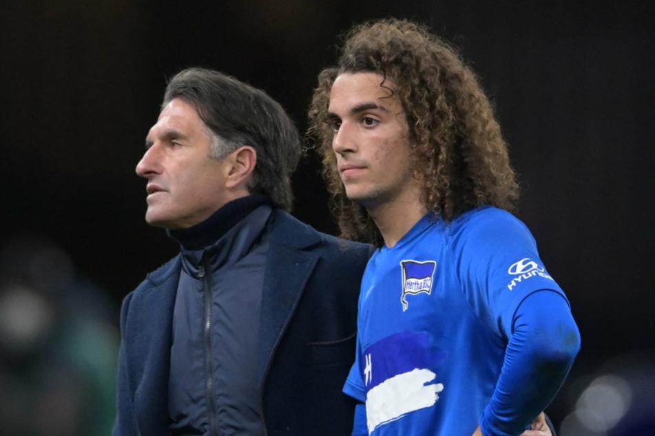 Mattéo Guendouzi (21, r.) könnte für seinen Trainer Bruno Labbadia zu einem wichtigen Führungsspieler werden. Mit Leistung überzeugte der Neuzugang bereits.
