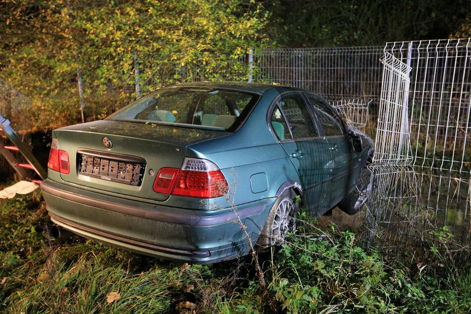 Der BMW war nicht zugelassen.