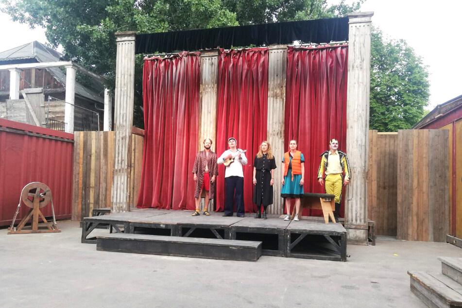 Eine erste Theater-Kostprobe gab es bereits am 23. Juli.