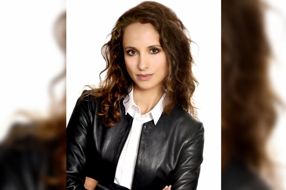 """TV-Star Stephanie Stumph (36) spielt in der Krimi-Serie Annabell """"Anna"""" Lorenz."""