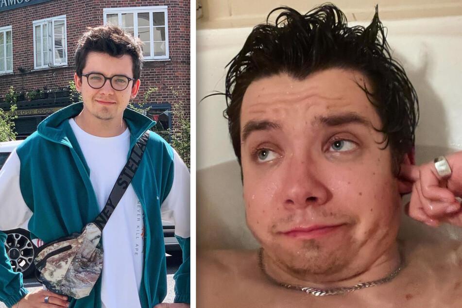 Asa Butterfield (24) wird offenbar nicht gerne ungefragt fotografiert oder gefilmt - zumindest nicht in seiner Freizeit.