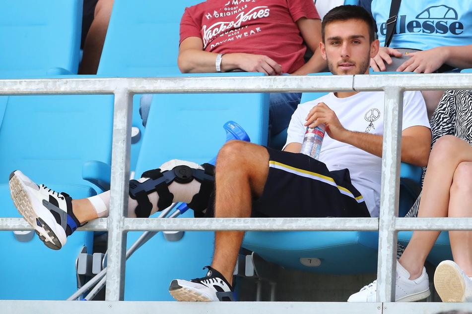 Das rechte Knie zwang Ioannis Karsanidis immer wieder zu langen Pausen - nun ist Schluss.