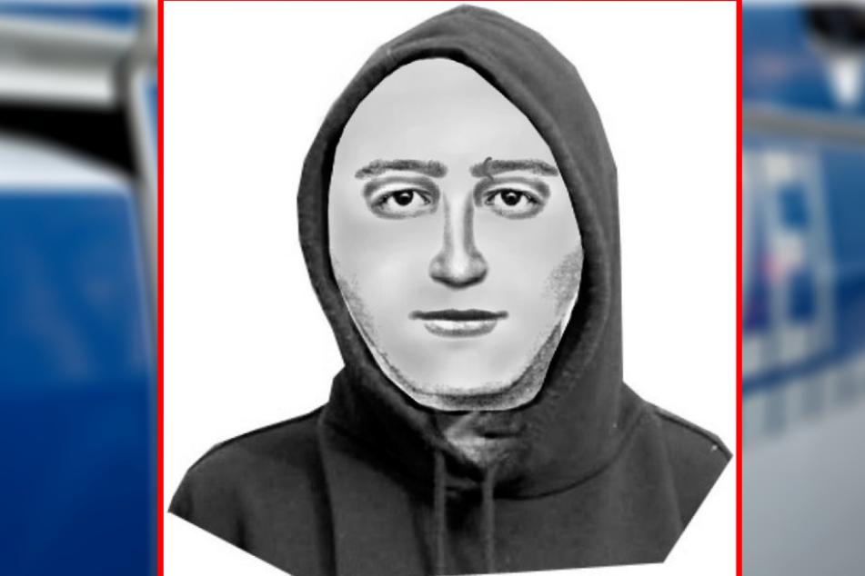 """Er soll Melina (9) gezwungen haben, eine """"rote Kugel"""" zu essen: Wer erkennt den Mann auf diesem Phantombild?"""