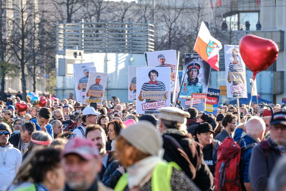 Für eine Corona-kritische Demo am Samstag sind 250 Teilnehmer gemeldet. (Archiv)