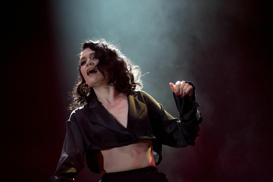 Die Musik ist ihr Leben: Sängerin Jessie J bei einem Konzert in Rumänien. (Archivbild)