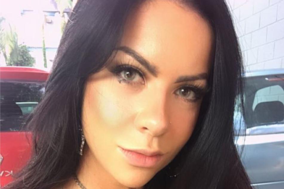 Melissa Lameira auf einem Insta-Selfie.