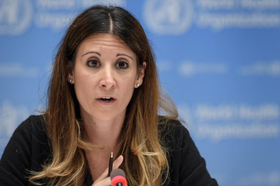 Maria van Kerkhove, Technische Leiterin des WHO-Programms für gesundheitliche Notfälle.