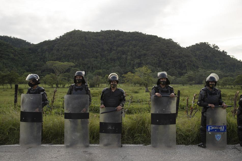 Die mexikanische Polizei ist für ihr rabiates Vorgehen bekannt. Das Land hat ein immenses Gewaltproblem.
