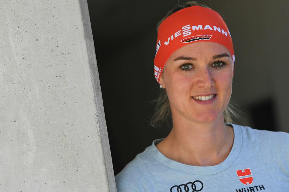 Frühjahrsputz statt Urlaub: Das sagt Biathlon-Star Denise Herrmann dazu