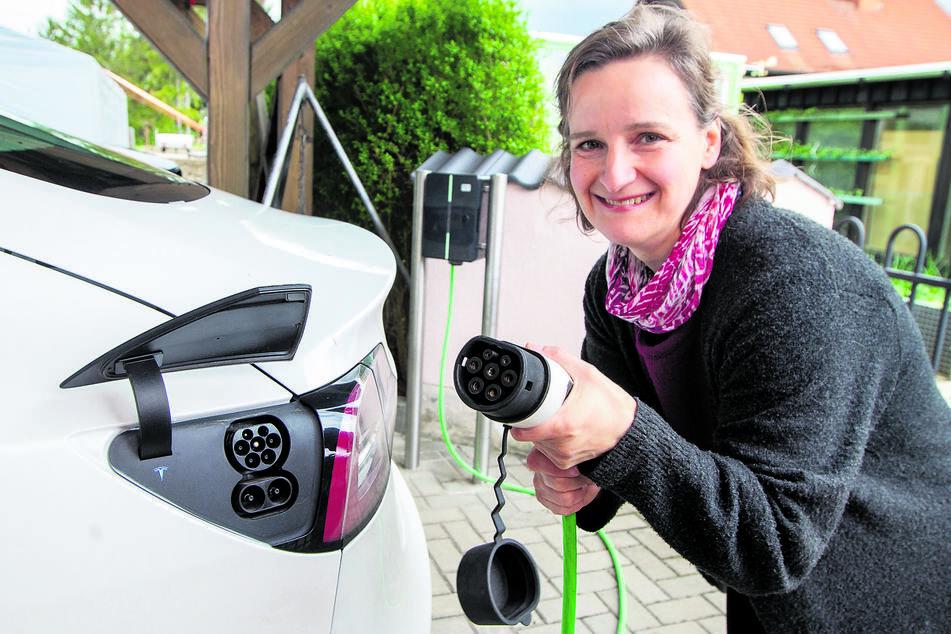Chemnitz: Immer mehr Elektroautos: Chemnitz ist die Nummer eins in der Region