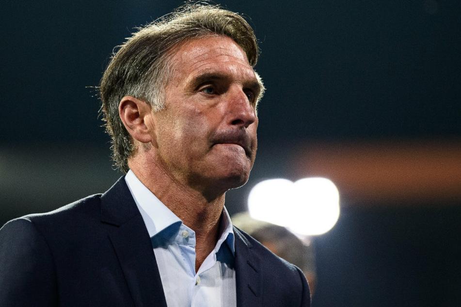 Hertha-Coach Bruno Labbadia (54) unter Druck: Ausgerechnet gegen RB Leipzig muss seine Mannschaft am Samstag den Abwärtstrend stoppen.