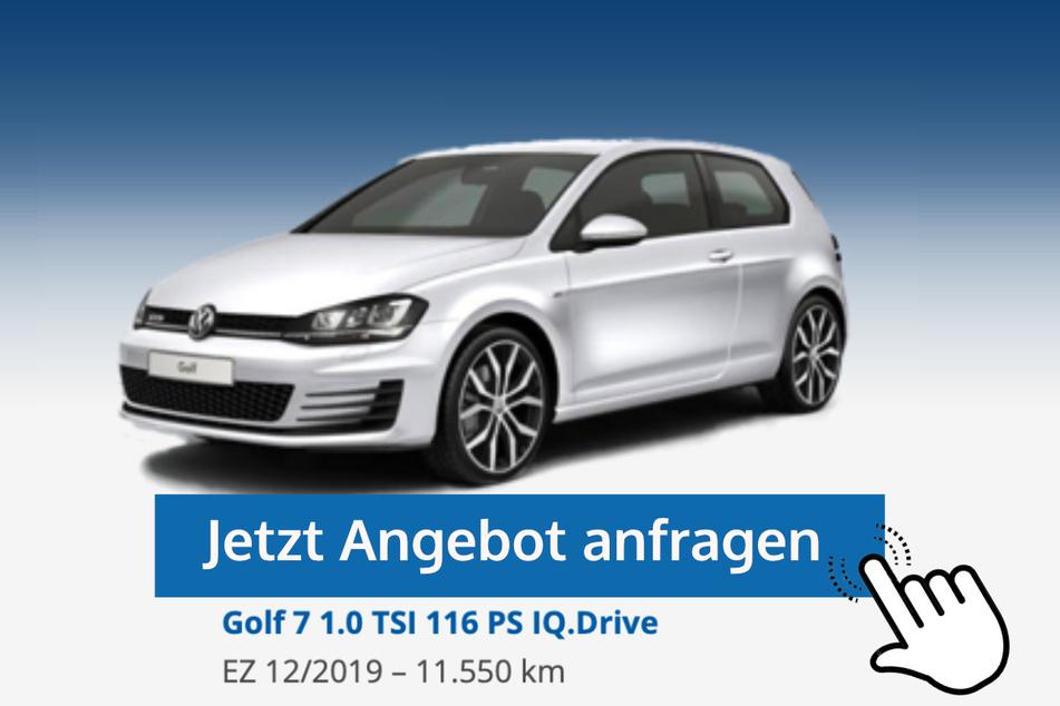 Golf 7 (1.0 TSI, 116 PS IQ.Drive) für 18.719 Euro bzw. 179 Euro/Monat*