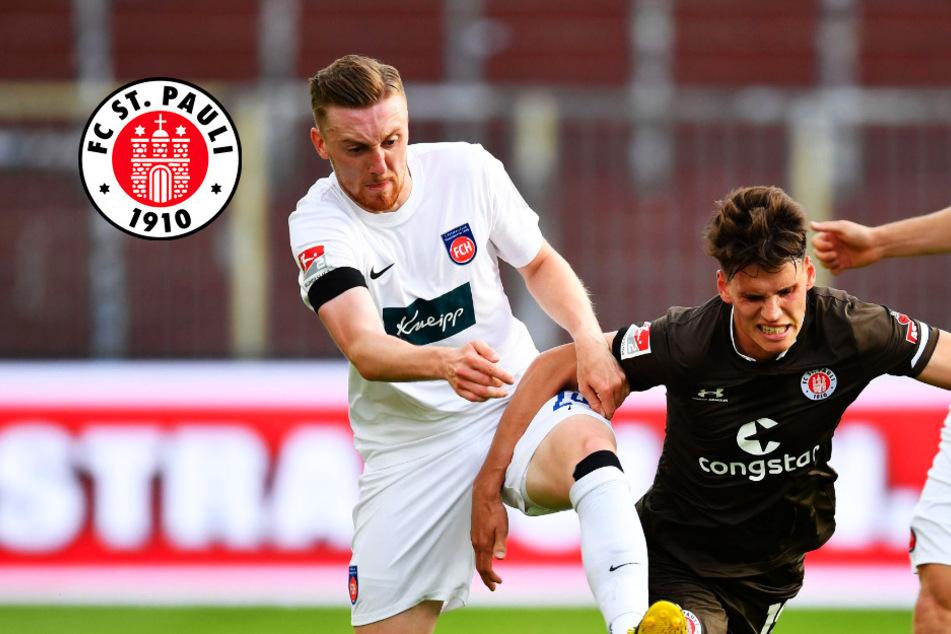 St. Pauli gegen Heidenheim im Glück! Leipertz vergibt Elfmeter-Geschenk kläglich