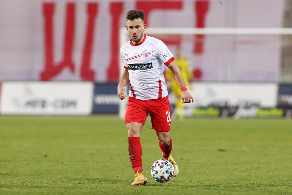 Can Coskun (23) bleibt beim FSV Zwickau.