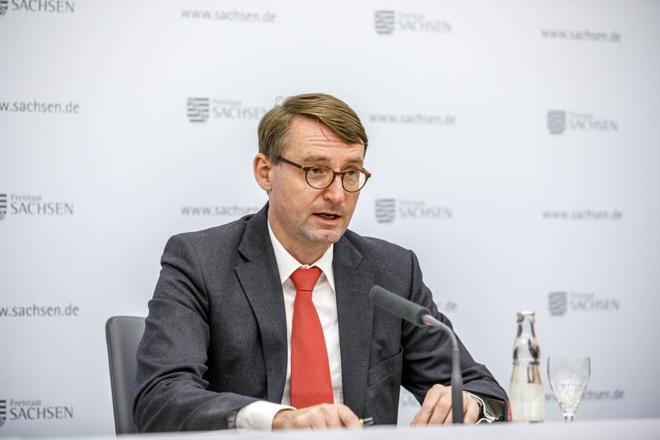 Sachsens Innenminister Roland Wöller (51, CDU).