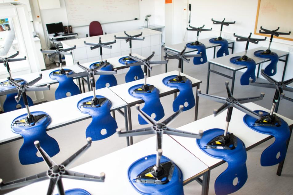 Die Schulen in Hessen wurden vor mehreren Wochen geschlossen (Symbolbild).
