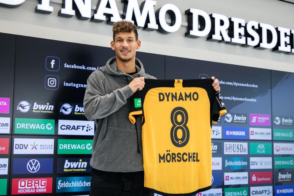 Heinz Mörschel (23) wird bei Dynamo Dresden die Rückennummer 8 tragen.