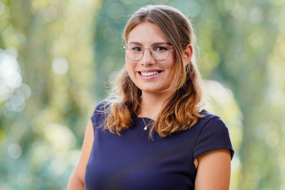 Träumte schon in der Schule davon, Weinkönigin und Politikerin zu werden: Tamara Luisa Elbl (22).