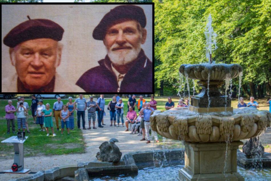 Dresden: Mein toter Bruder lässt diesen Brunnen sprudeln