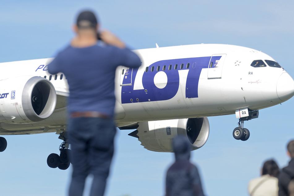 """Die polnische Airline """"Lot"""" steht vor der Pleite."""