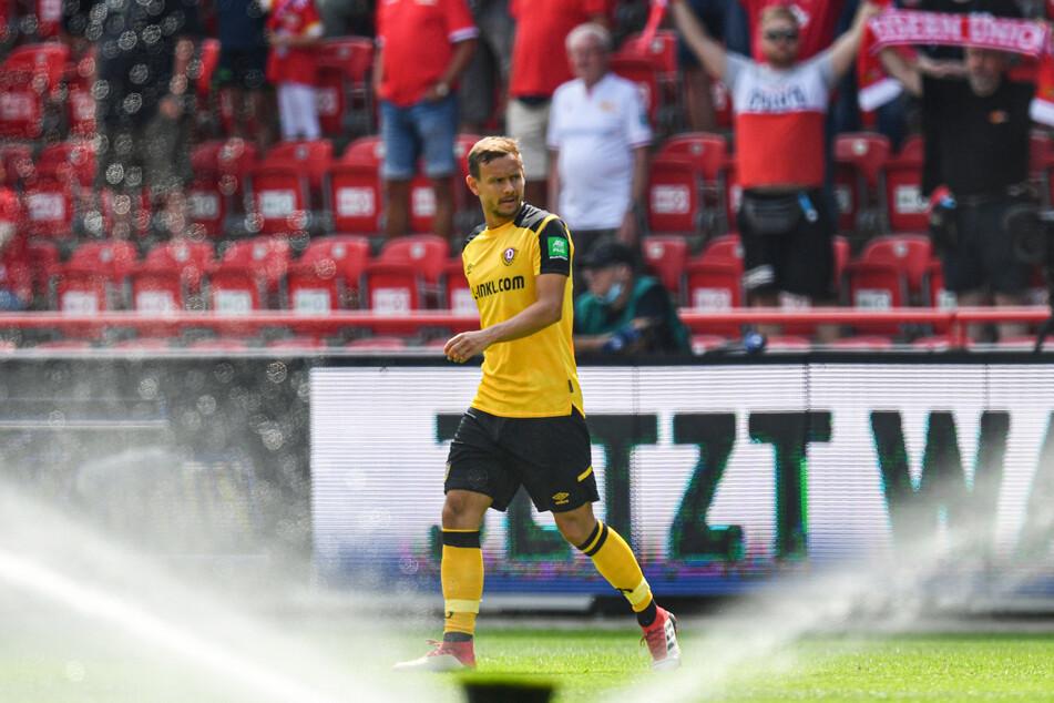 Chris Löwe (32) vorm Testspiel bei Union Berlin. Ein Stammplatz ist sein Anspruch für die neue Zweitligasaison.