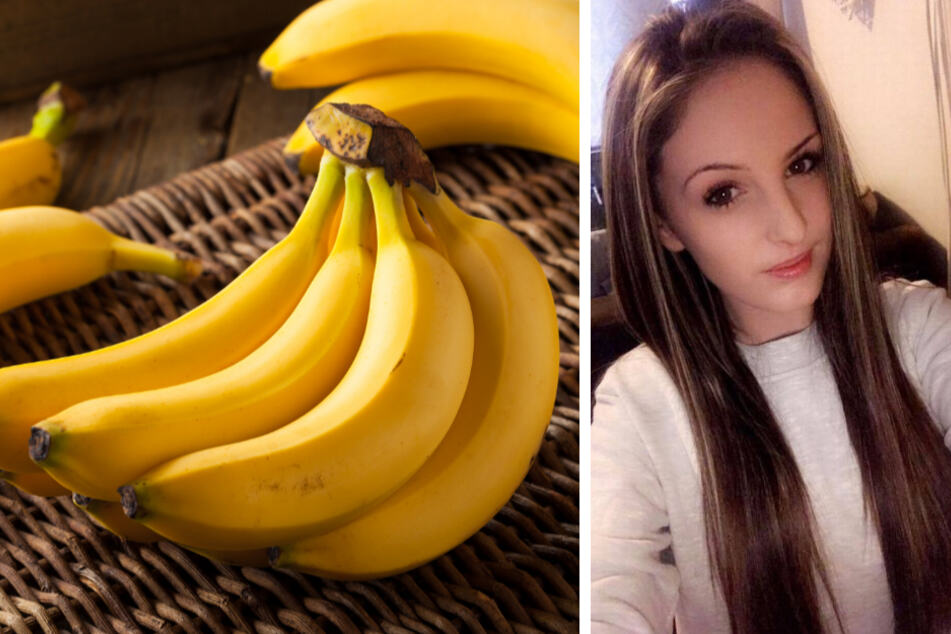 Beim Auspacken von Bananen entdeckte Keeley Ballard einen ungebetenen Gast aus Costa Rica.