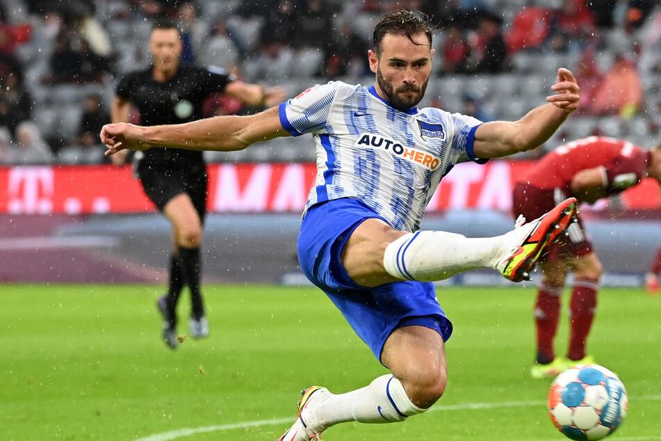 Herthas Rekord-Einkauf Lucas Tousart (24) könnte gegen RB Leipzig zum Innenverteidiger umgeschult werden.