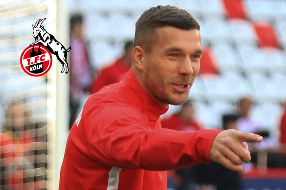 """Lukas Podolski hat """"aktuell keinen Kontakt"""" zum 1. FC Köln"""