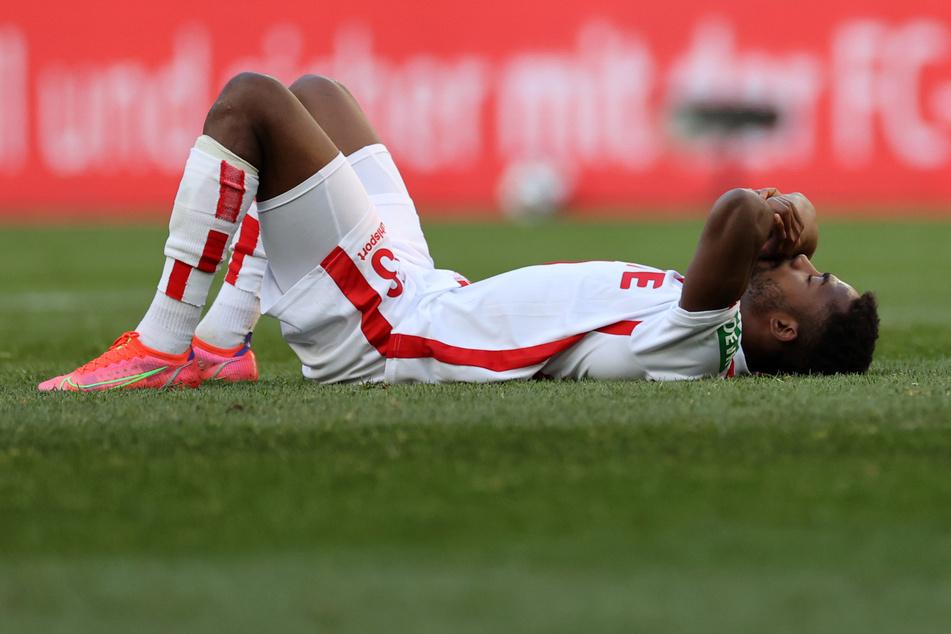Leih-Stürmer Emmanuel Dennis (23) kann beim 1. FC Köln nicht die erhofften Erfolge vorweisen.