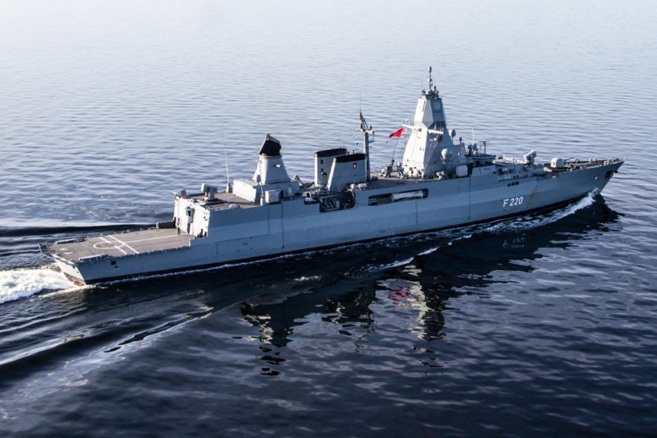 """Kriegsschiff """"Hamburg"""" bricht in Richtung Libyen auf"""