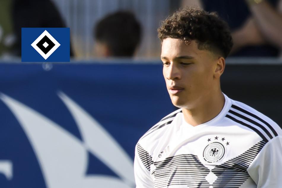 HSV verlängert Vertrag mit Nachwuchstalent Jonas David vorzeitig