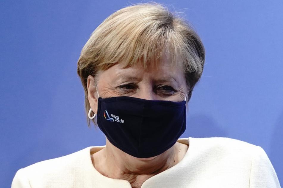 Kanzlerin Angela Merkel (66, CDU) Ende September.