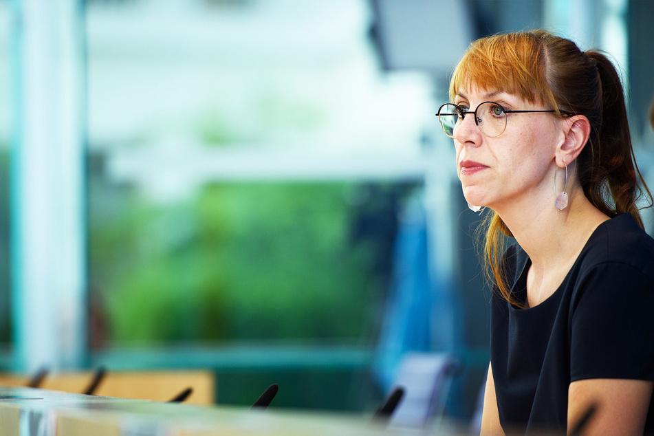 Justizministerin Katja Meier (41, Grüne) ließ viele Zellen leer stehen, um schnell reagieren zu können.